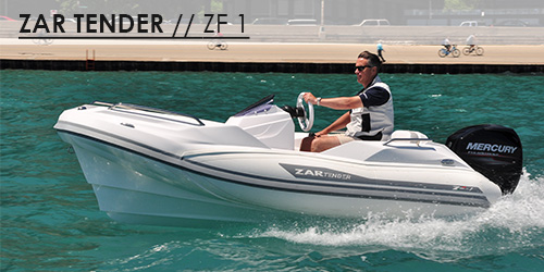 zf1 tender yachts