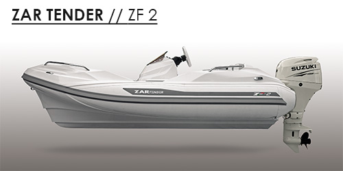 ZF2 tender yachts