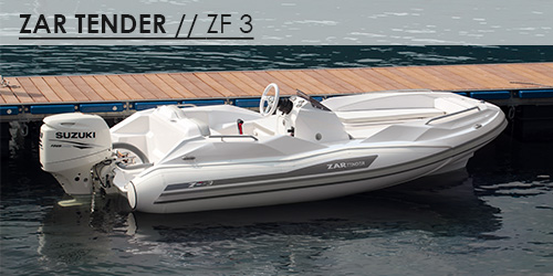 ZF3 tender yachts