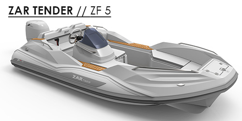 ZF5 tender yachts